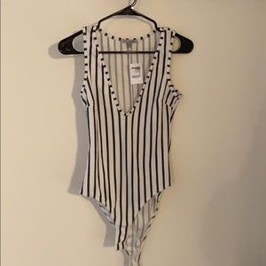 Body Suit Top: Charlotte Russe BRAND NEW with TAG